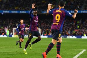 'Remember when they were signing him' - Barcelona fans taunt Arsenal over Ousmane Dembele saga