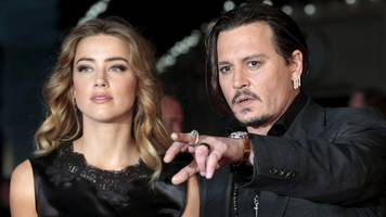 worst actors? johnny depp and amber heard among razzie award nominees