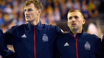 'ill-informed and dumb' - murray criticises evans' doubles game comments
