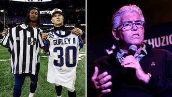 Mike Francesa Thought Todd Gurley Actually Swapped Jerseys With a Ref
