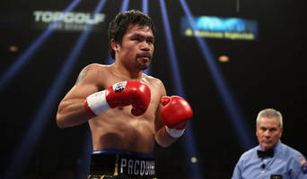 report: manny pacquiao camp fears he suffered detached retina in win vs. adrien broner