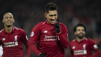 Roberto Firmino Hails 'Demanding' Compatriot Alisson After Inspiring Victory Against Crystal Palace