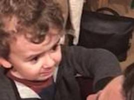 hilarious moment little boy refuses to accept his mum is having a baby girl