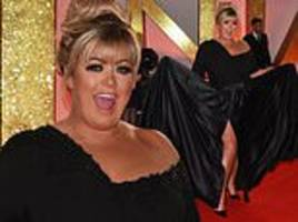 ntas 2019: gemma collins risks run-in with tv enemies holly willoughby and phillip schofield