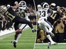 saints fans sue nfl over call that helped send rams to...
