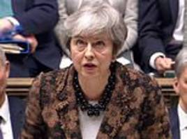 theresa may orders her mps to vote down amendments that would stop a no deal brexit