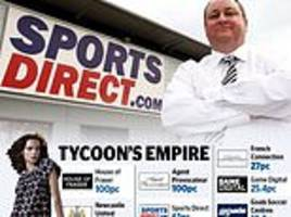 mike ashley bids to be king of the high street: billionaire plots merger of hmv and game digital
