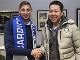 It was hoped Emiliano Sala would shoot Cardiff to safety. Then he boarded the plane