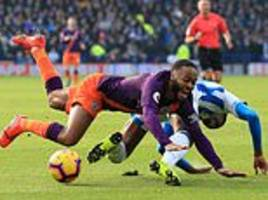 manchester city 'compile dossier of incidents where raheem sterling has not been awarded penalties'
