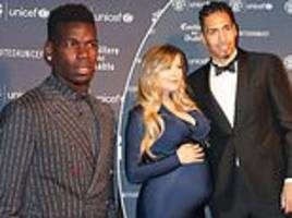 manchester united stars at unicef gala dinner to celebrate its 20th anniversary