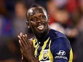 usain bolt gives up dream of becoming a professional footballer