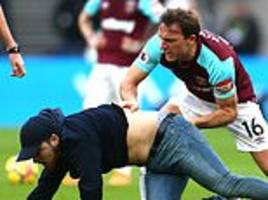 west ham fined for crowd trouble during burnley defeat last year