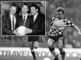 i played last time manchester city won by nine! andy may recalls playing for huddersfield in 1987