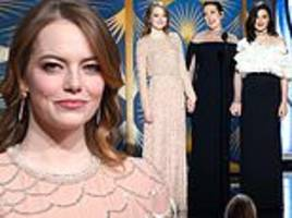 oscar nominations 2019: emma stone praises her the favourite co-stars