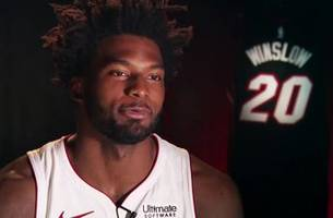 my number: miami heat's justise winslow on his jersey number