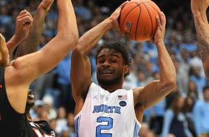 No. 11 North Carolina upsets No. 10 Virginia Tech behind Coby White's game-high 27 points