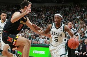 Cassius Winston drops 14 points in No. 6 Michigan State's win over No. 13 Maryland