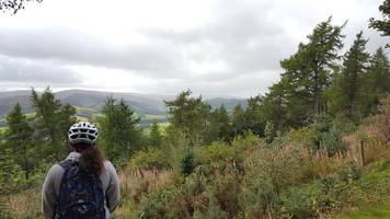 glentress hosts mountain biking mental health pilot scheme