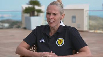'We set out to inspire the nation' - Scotland head coach Shelley Kerr