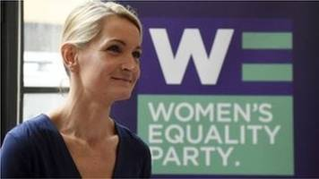women's equality party: sophie walker quits as leader