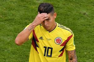 arsenal could face fight from tottenham hotspur for james rodriguez, chelsea mull over move for former star, manchester united agree deal