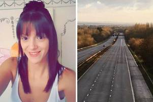 carer elaina beard likely 'concussed' when she walked across m5, inquest hears