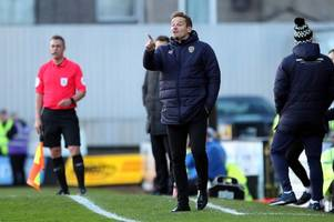 neal ardley reveals plans for notts county players on weekend off