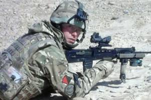 birmingham soldier wayne bass sues army after catching 'q fever' from sheep poo in afghanistan