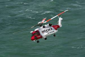Cornwall rescue helicopter joins search for missing light aircraft in English Channel