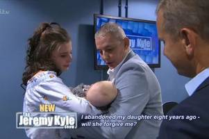 heartache as staffordshire man dies just three months after meeting granddaughter on the jeremy kyle show