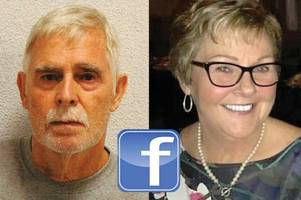Pensioner murdered wife of 50 years after she left him for old flame on Facebook