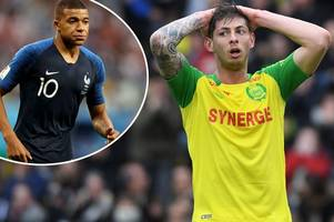world football stars pray for emiliano sala as former team-mate reveals he tried to call him