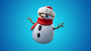 Fortnite's new patch adds decoy snowmen to the game