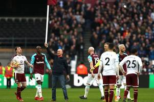 west ham hit by £100k fa fine after burnley protests and their landlords come under fire