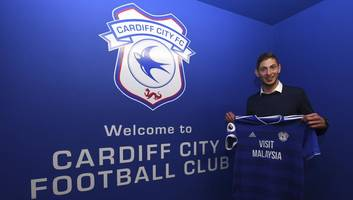 'genuine concern' for cardiff striker emiliano sala as aircraft goes missing over english channel