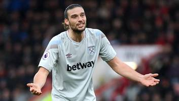 west ham offer andy carroll to former club newcastle in swap deal for jonjo shelvey