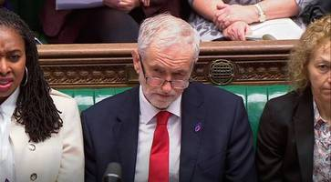 corbyn sat down with ira without pre-conditions but won't meet me on brexit, says may