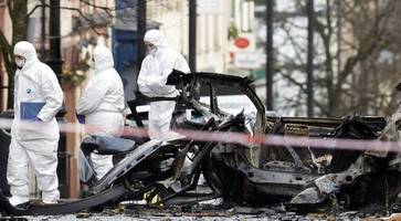 Father who drove past Derry car bomb tells of lucky escape