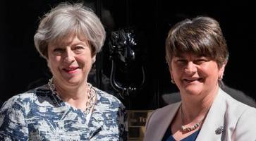 pm assures dup northern ireland peace funding to continue regardless of brexit