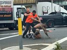 Partially deaf truck driver embroiled in brutal Sydney road rage attack reveals how brawl exploded