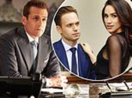 suits renewed for ninth and final season... a year after meghan markle's departure to marry