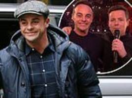 Ant McPartlin is jubilant at Britain's Got Talent auditions...  after NTAs Best Presenter win