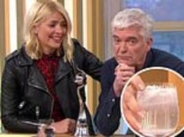 Holly Willoughby and Phillip Schofield have NTAs hangover on This Morning