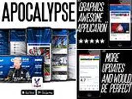 Crystal Palace post hilarious video to get fans to download club app