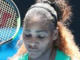 extraordinary collapse at australian open shows serena williams is no longer invincible