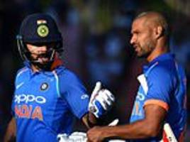 India ease to victory against New Zealand... after the SUN caused unexpected delay