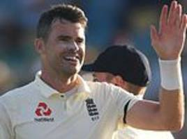 jimmy anderson returns to his potent best at the kensington oval