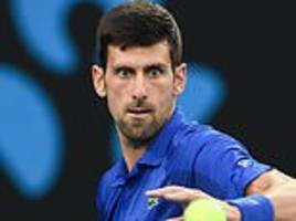 novak djokovic marches into the semi-finals of the australian open