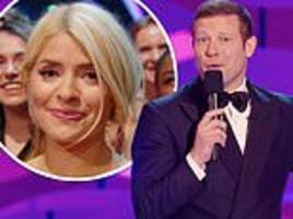 ntas 2019: host dermot o'leary has a dig at holly willoughby