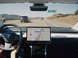 tesla to add 'sentry mode' to keep an eye on your car while it is parked